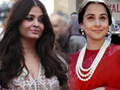 Vidya and Ash: Fashionably disastrous at Cannes