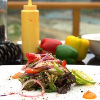 Hoagie Salad (Cucumber Salad)