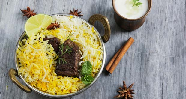 Recipe of Ambur Mutton Biryani
