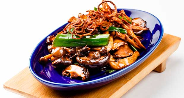Recipe of Warm Mushroom Salad
