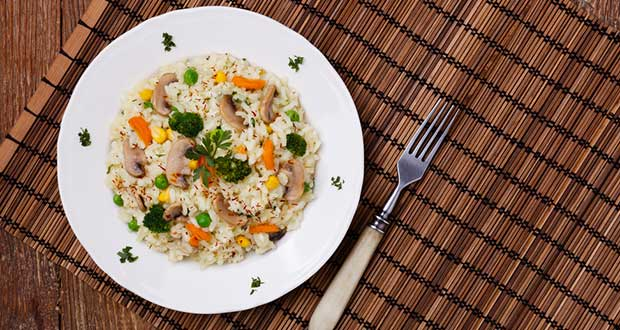 Recipe of  Quinoa Risotto With Mushroom