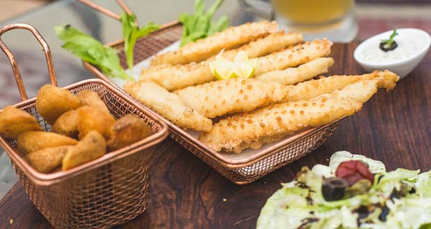Beer Batter Fish Fingers