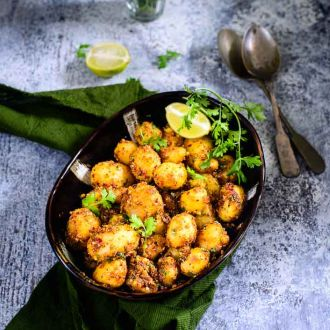 Recipe of Masala Baby Potato Roast