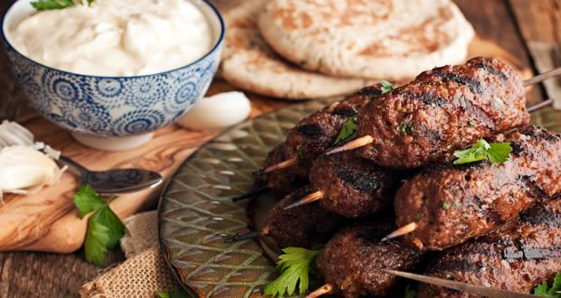 Recipe of Arbi Kofta with Mint Yoghurt Dip