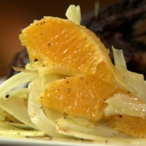 Baby Fennel & Orange Salad
