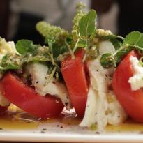 Recipe of Caprese Salad with Pesto Sauce