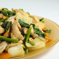 Chinese Stir-Fried Vegetables