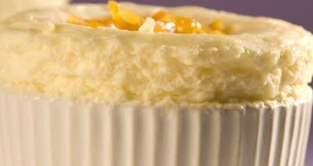 Eggless Lemon Souffle Recipe By Niru Gupta Ndtv Food