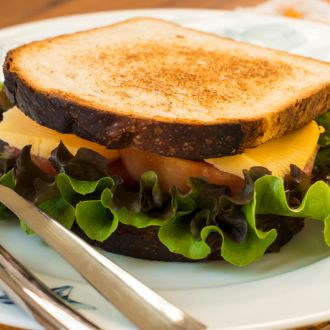 Recipe of Egg and Cheddar Cheese Sandwich