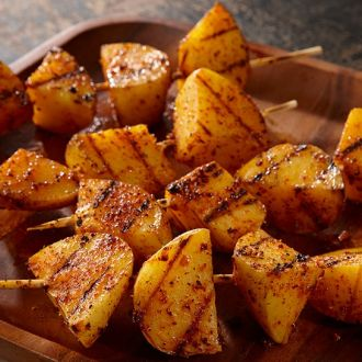 Recipe of Grilled Potato Kebabs