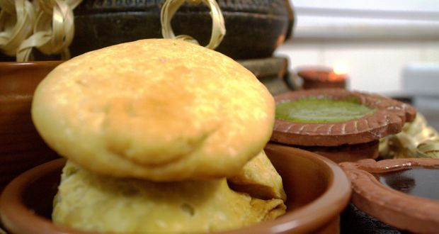 Cheese & Jalapeno Stuffed Kachori