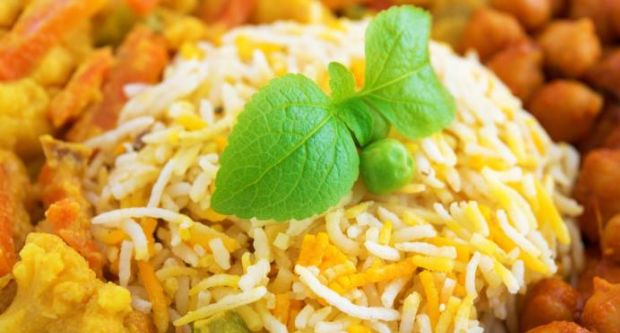 Recipe of Kale Channe Ki Biryani