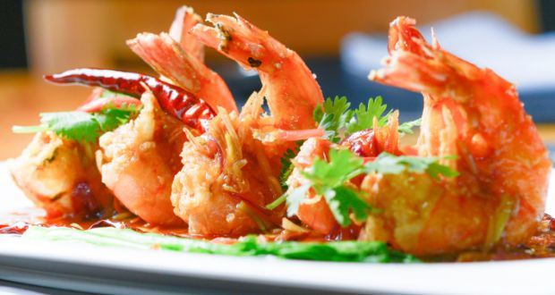 Kerala Fried Prawns Recipe Ndtv Food