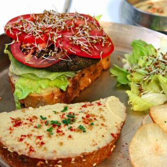Recipe of Kodo Millet Burger