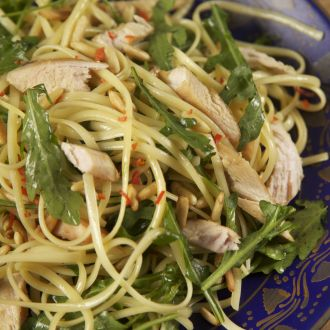 Lemon Chicken and Rocket Pasta