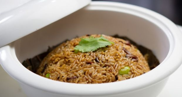 Lotus Leaf Wrapped Fried Rice