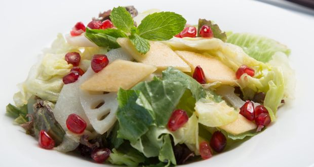 Recipe of Mixed Salad With Lotus Root