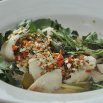 Recipe of  Nahm Jim Steamed Fish