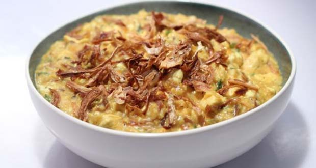 Recipe of Oats and Chicken Porridge