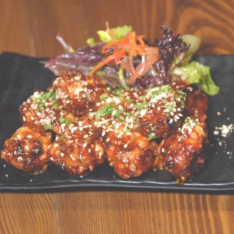 Old Monk Sticky Chicken Wings