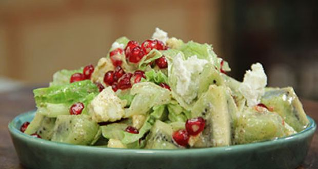 Recipe of Pomegranate and Kiwi Salad