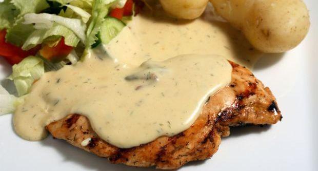 Poulet A La Mourtade (Chicken Dijon)