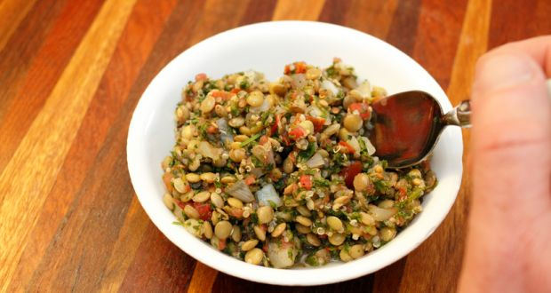 Recipe of Quinoa Lentil Salad