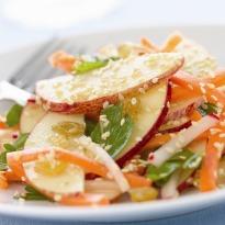 Sesame Apple Salad