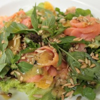 Recipe of Smoked Salmon Salad