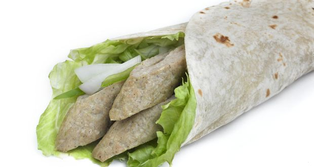 Spiced Fish Wraps