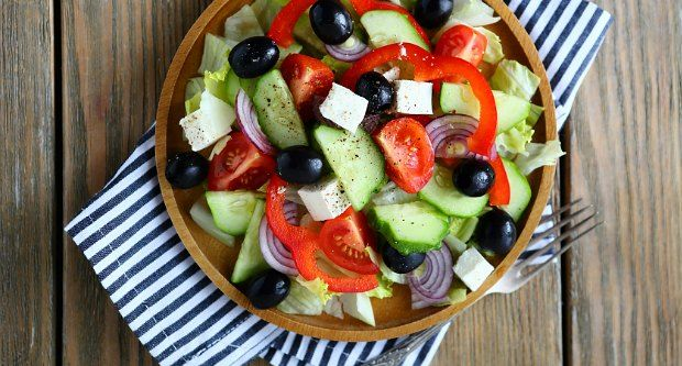 Recipe of Tomato Olive Salad