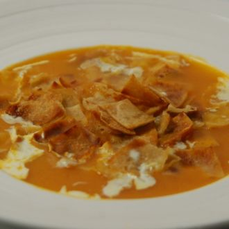 Tomato and roti soup recipe by sanjeev kapoor ndtv food forumfinder Image collections