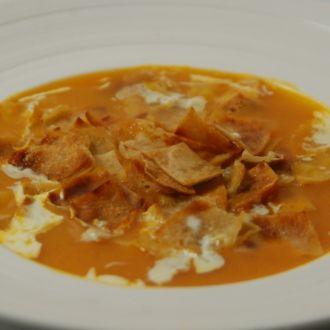 Tomato and Roti Soup
