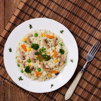 Recipe of  Quinoa Risotto With Mushroom