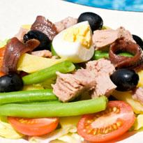 Recipe of Tuna Nicoise Salad and Orange Sauce