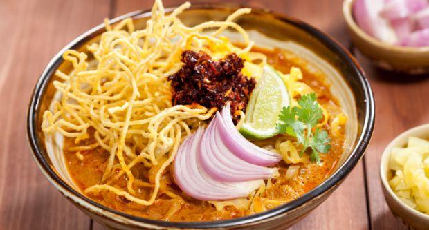 Vegetarian Khow Suey
