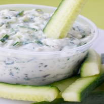 Yogurt Dip with Crudites