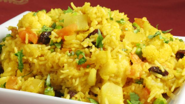 Peas Matar Aloo Pulao Recipe How To Make Pulao Veg Pulav Recipe
