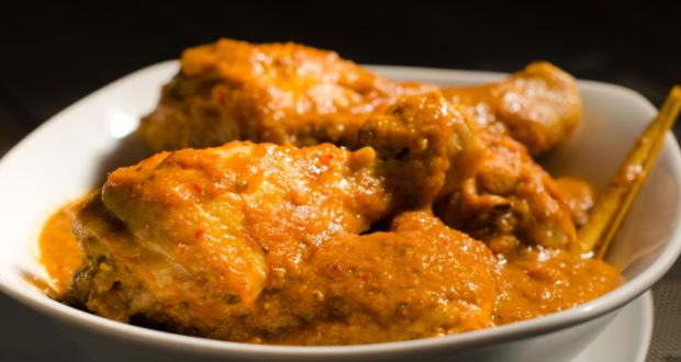 Andhra Style Chicken Curry
