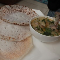Chicken Stew and Appam