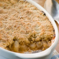 Apple Peach Crumble