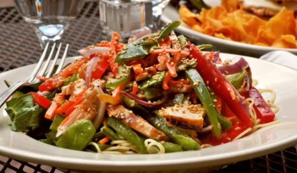 Японский салат рецепт с