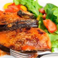 Recipe of Aubergine in Tomato Sauce