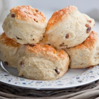 Bacon and Herb Scones