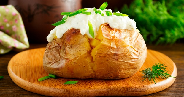 Baked Potatoes Without Oven Recipe By Heena Osis Ndtv Food