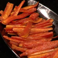 how to make baked carrots