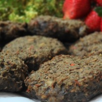Baked Mushroom and Lentils Fritters