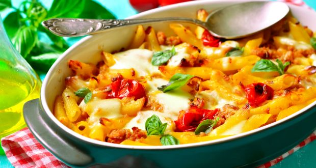Home Style Baked Pasta