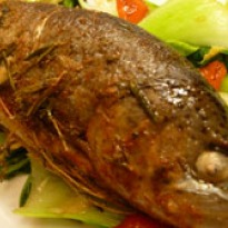 Baked Trout in Butter