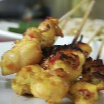 Balinese Chicken Satay